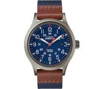 Armbanduhr Analog Classic Quarz Textil TW4B14100