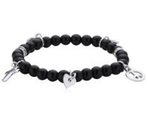 Damen-Armband Edelstahl schwarz 335388
