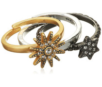 Jewelry Ring Messing Kristall Glaskristall Stackable rings weiß