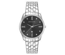 Analog Quarz Uhr mit Edelstahl Armband PC107572F05