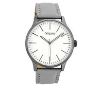 Erwachsene Digital Quarz Uhr mit Leder Armband C8540