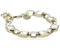 Armreif Vergoldetes Metall Kristall Swarovski 336330