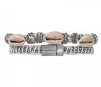 Damen-Wickelarmbänder Versilbert E18MCILOWH