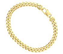 Herren-Armband vergoldet Silber 21,6 cm
