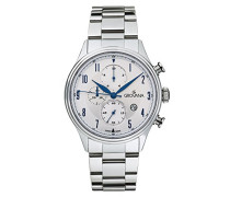 Armbanduhr Chronograph Quarz Silber 1192.9132