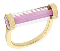 Damen-Ring Vergoldet - Größe 53 (16.9)