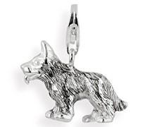 Damen-CharmHund 925/- Sterling Silber HB 377