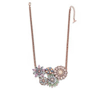 Halskette Metalllegierung Marquiseschliff Pink/Rosa Autre Cristal