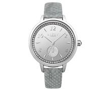 Datum klassisch Quarz Uhr mit PU Armband LP581