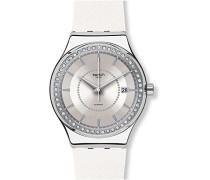 Erwachsene Analog Automatik Uhr mit Gummi Armband YIS406