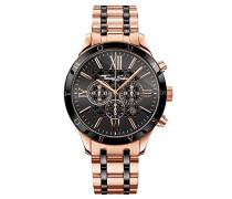 Armbanduhr Chronograph Quarz Edelstahl WA0187-267-203-43 mm