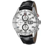Armbanduhr Chronograph Automatik Leder CV2A11.FC6235