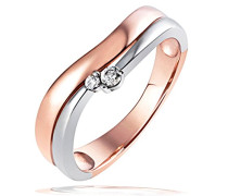 Ring 925 Sterling Silber Rot Passion Zirkonia