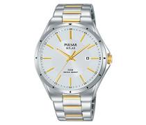 Analog Solar Uhr mit Edelstahl Armband PX3141X1