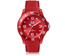 ICE sixty nine Red - Rote Herrenuhr mit Silikonarmband - 007267 (Large)
