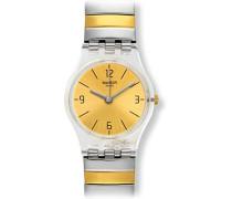 Digital Quarz Uhr mit Edelstahl Armband LK351A