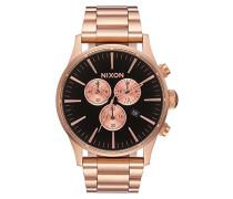 Chronograph Quarz Uhr mit Edelstahl Armband A3861932-00