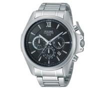 Armbanduhr XL Sport Analog Quarz Edelstahl PT3437X1
