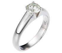Damen-Ring 750 Gold 1 Diamant 0.75 Carat