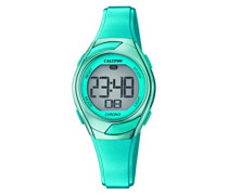 Digital Quarz Uhr mit Plastik Armband K5738/5