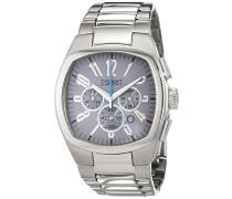 Armbanduhr Analog Quarz Edelstahl ES100141002