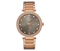 Armbanduhr T-BAR Analog Quarz Edelstahl beschichtet 44L211