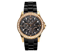 Armbanduhr Analog Quarz Premium Keramik Diamanten - STM15N6