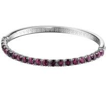 Armreif 925 Sterling Silber rhodiniert Glas Zirkonia Idya berry pink ELBA91044D600
