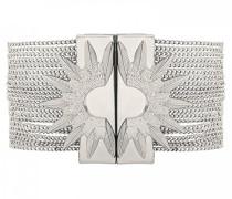 Damen-Manschetten Armbänder Versilbert E18SFORESI