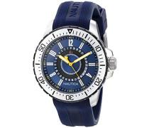 Herren-Armbanduhr Analog Quarz Silikon N14664G