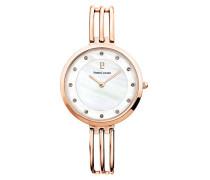 Analog Quarz Uhr mit Edelstahl Armband 016M999