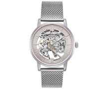 Analog Automatik Uhr mit Edelstahl Armband KC50054006