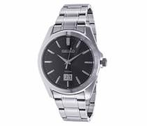 Armbanduhr XL Herrenuhren Analog Quarz Edelstahl SUR009P1