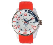 US Polo Association -Armbanduhr Analog Silikon USP4273RD_RD