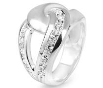 Ring Infinity mit Zirkoniasteinchen LD IF 12