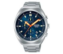 Chronograph Quarz Uhr mit Edelstahl Armband PM3085X1