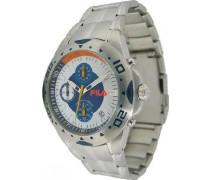 Herren-Armbanduhr Analog Quarz Edelstahl 785354