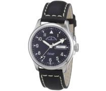 Armbanduhr Basic Analog Automatik Leder 12836DDN-a1