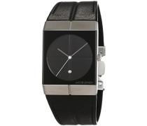 Unisex-Armbanduhr ICON Analog Quarz Leder 230