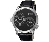 Collection Armbanduhr XL Zelos Analog Quarz Leder