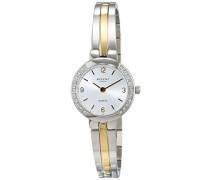 Analog Quarz Uhr mit Edelstahl Armband 12230674