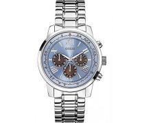 Armbanduhr Chronograph Quarz Edelstahl W0379G6