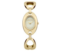 Damen-Armbanduhr Analog Quarz Gold M1192GM
