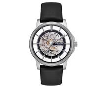 Analog Automatik Uhr mit Leder Armband KC50227001