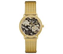 Erwachsene Datum klassisch Quarz Uhr mit Edelstahl Armband W0822L2