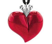 Anhänger Crown of my Heart Herzanhänger 925 Silber Emaille LD LP 34 RM