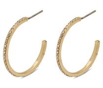 Damen-Creole Vergoldet Kristall 601832063