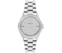 Datum klassisch Quarz Uhr mit Edelstahl Armband R4253101515
