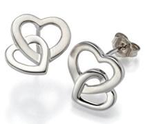 Damen-Ohrstecker 925 Silber rhodiniert - 790124