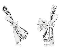 Stories Brilliant Bows Ohrstecker 925 Sterlingsilber 20 x 8 mm